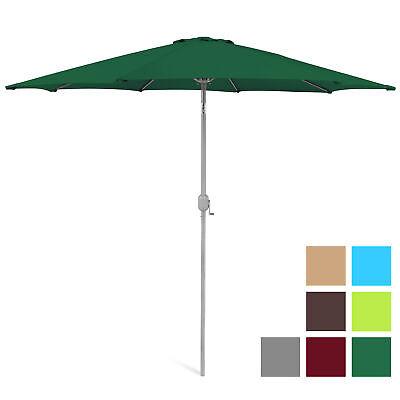 BCP 9ft Outdoor Market Patio Umbrella w/ Crank Tilt Adjustme