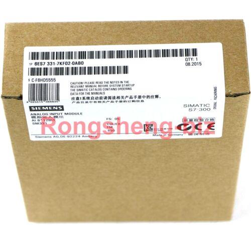 1PC SIEMENS NEW 6ES7331-7KF02-0AB0 6ES7 331-7KF02-0AB0 PLC