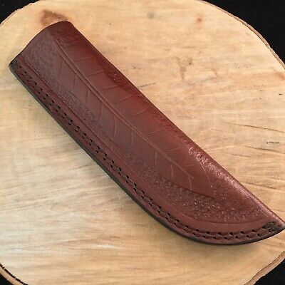 Knife Sheath Designs - Premium Hand Tooled Leather Knife Sheath Fixed Blade For 8-10