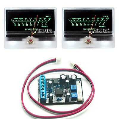 2pcs Tn-90a Panel Vu Meter Header Db Audio Amplifier W Ta7318p Driver Board