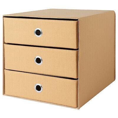 IKEA Mini-Kommode Gavetas Mini Cómoda Beige 33x38 CM Caja
