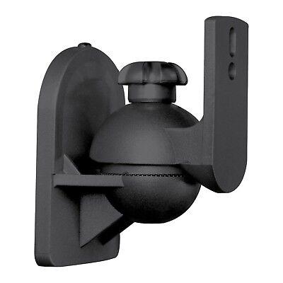 1 Universal Satellite Speaker Black Wall Mount Bracket fits