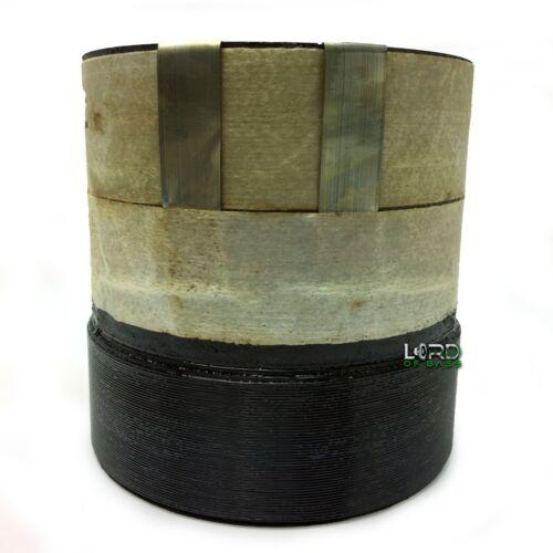"""3""""  Dual 2 Ohm Voice Coil 4 Layer Round Copper VC180307"""