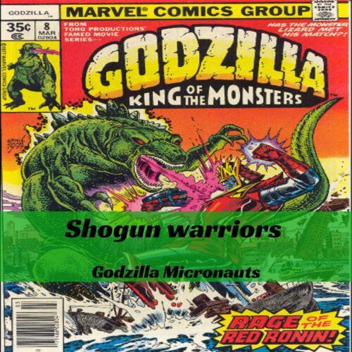 Shogun Warriors- Godzilla- Micronauts