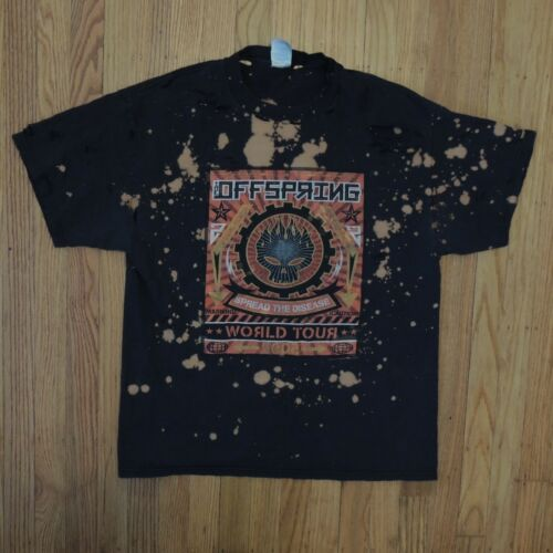 The Offspring Spread The Disease World Tour 2005 Sz Large Concert Shirt Trashed