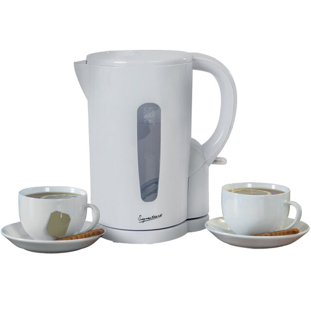 Signature S101 1.7L White Electric Cordless Jug Kettle - Indicator & Water Gauge