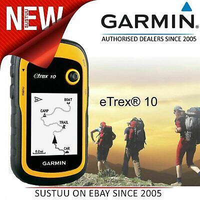 "New Garmin eTrex 10│2.2"" Outdoor Handheld GPS Receiver│GLONASS│Worldwide Basemap"
