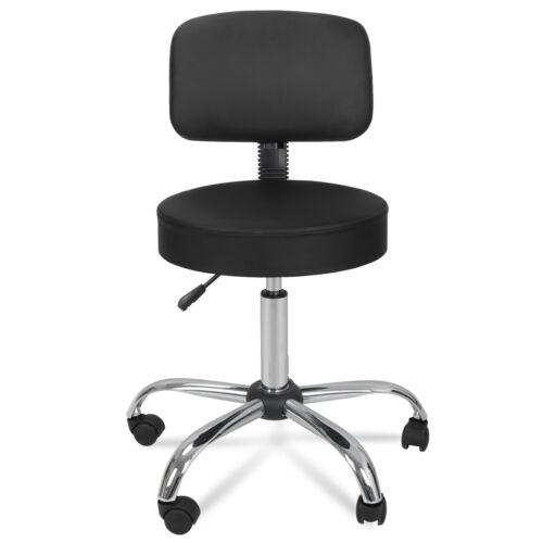 Hydraulic Chair Salon with Rolling Wheels + Drafting Table Adjustable Angle Art Supplies