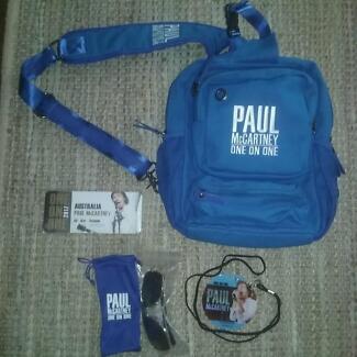 paul mccartney one on one memorbillia pack