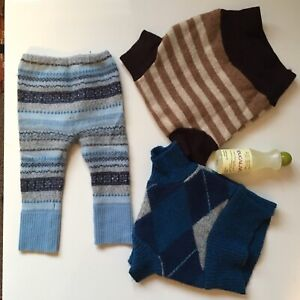 Wool soakers for cloth diapering