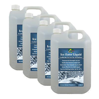 Snow & Ice Remover HYDRA ICE-EATER LIQUID - 4x5L