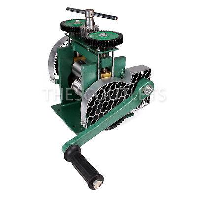 Manual Combination Rolling Mill Machine Jewelry Press Tabletting Tool  80mm