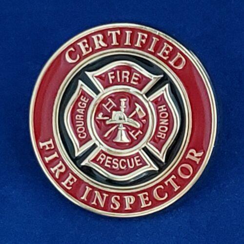 CERTIFIED FIRE INSPECTOR  PIN Item #77