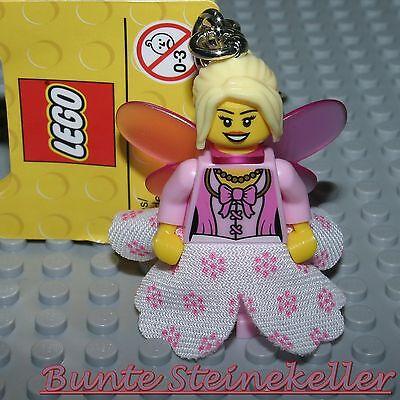 LEGO® SCHLÜSSELANHÄNGER: Fee mit Kleid & Flügeln ! NEU !