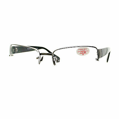 Clear Lens Glasses With Bifocal Reading Lens Half Rim (Half Lens Glasses)