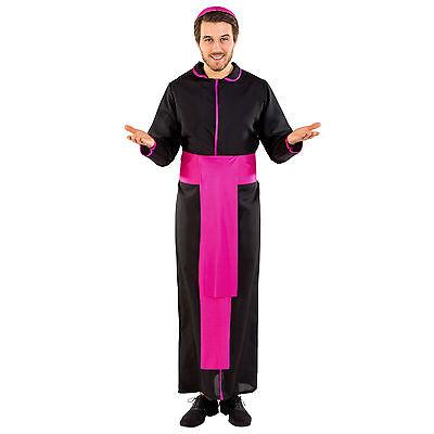 Herren Kostüm Priester Pfarrer Pastor Kirche Geistlicher Papst Fasching Karneval