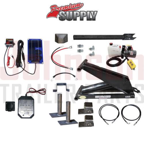 6 Ton Hydraulic Scissor Hoist Kits   PH416   Perfect for Dump Trailers & Trucks