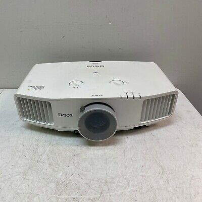 Epson PowerLite Pro G5000 LCD Projector Tested and Working No Remote 800 Lamp Hr