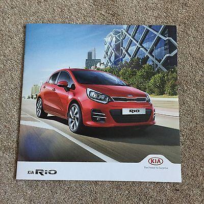 KIA - Rio UK Sales Brochure 2016