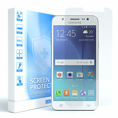 EAZY CASE Samsung Galaxy J5 (2015) Lámina Protectora de Pantalla Duro Cristal...