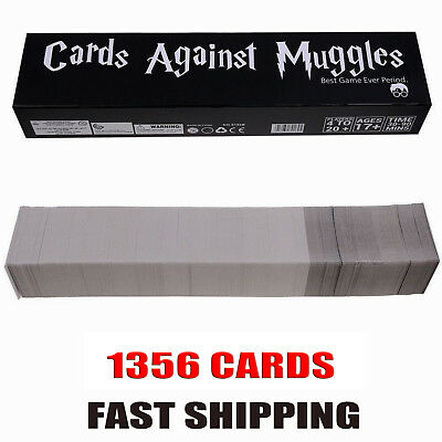 Cards Against Muggles 1356 Cards Table Game Party Home Gift Fast Shipping