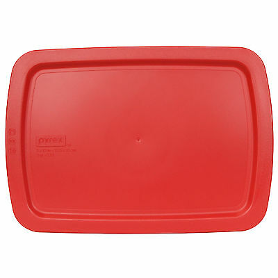 """Pyrex Easy Grab C-233-PC Red Replacement Storage Lid Cover for 3Qt 9x13"""" Dish"""