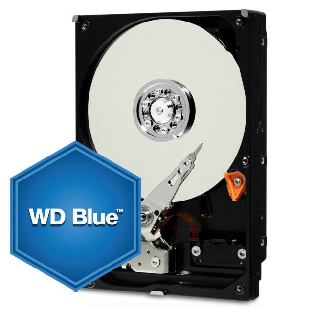 "WD Blue 3.5"" Internal Desktop HDD 500GB/1TB/2TB/3TB/4TB/5TB/6TB SATA3 16~64MB"