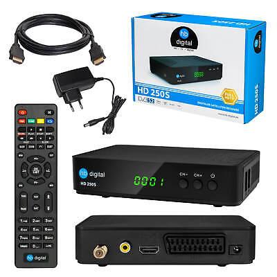 Sat Receiver HB Digital 250S DVB-S2 HDMI SCART USB satelliten digitaler tuner 1A