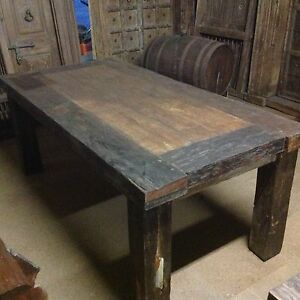 Large rustic dining table Pokolbin Cessnock Area Preview