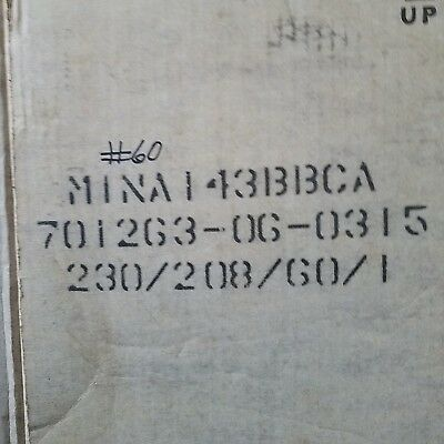 Bristol Compressor Mina143bbca 230208 60-1 14000 Btu Compressor