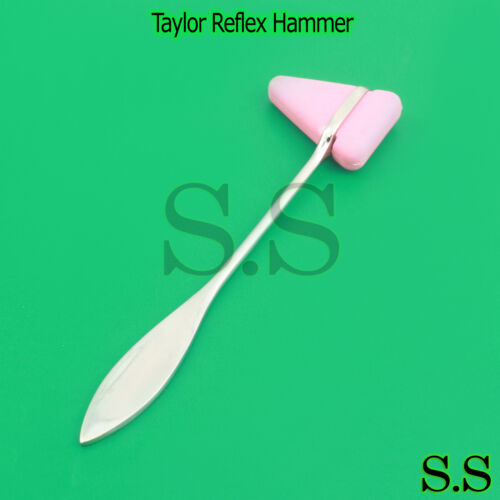 Pink Taylor Percussion Neuro Reflex Hammer Medical Tool