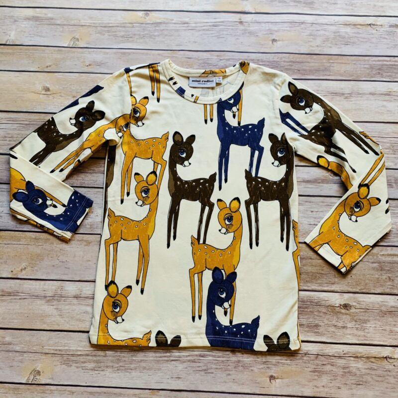 Mini Rodini Roe Deer LS T-Shirt, 116-122 Cm