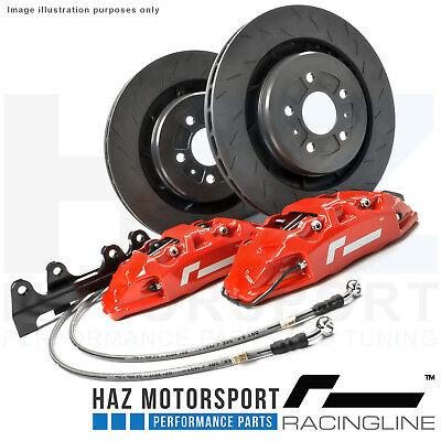 RacingLine Performance Big Brake Upgrade Kit VW Golf MK7 MK7.5 GTI/R/GTD Red