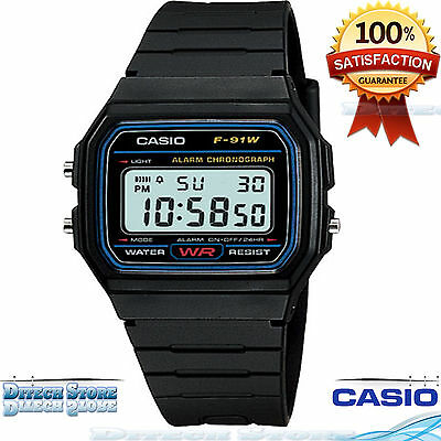 Casio F91W1 Men Classic Sport Digital Sport Watch Brand New