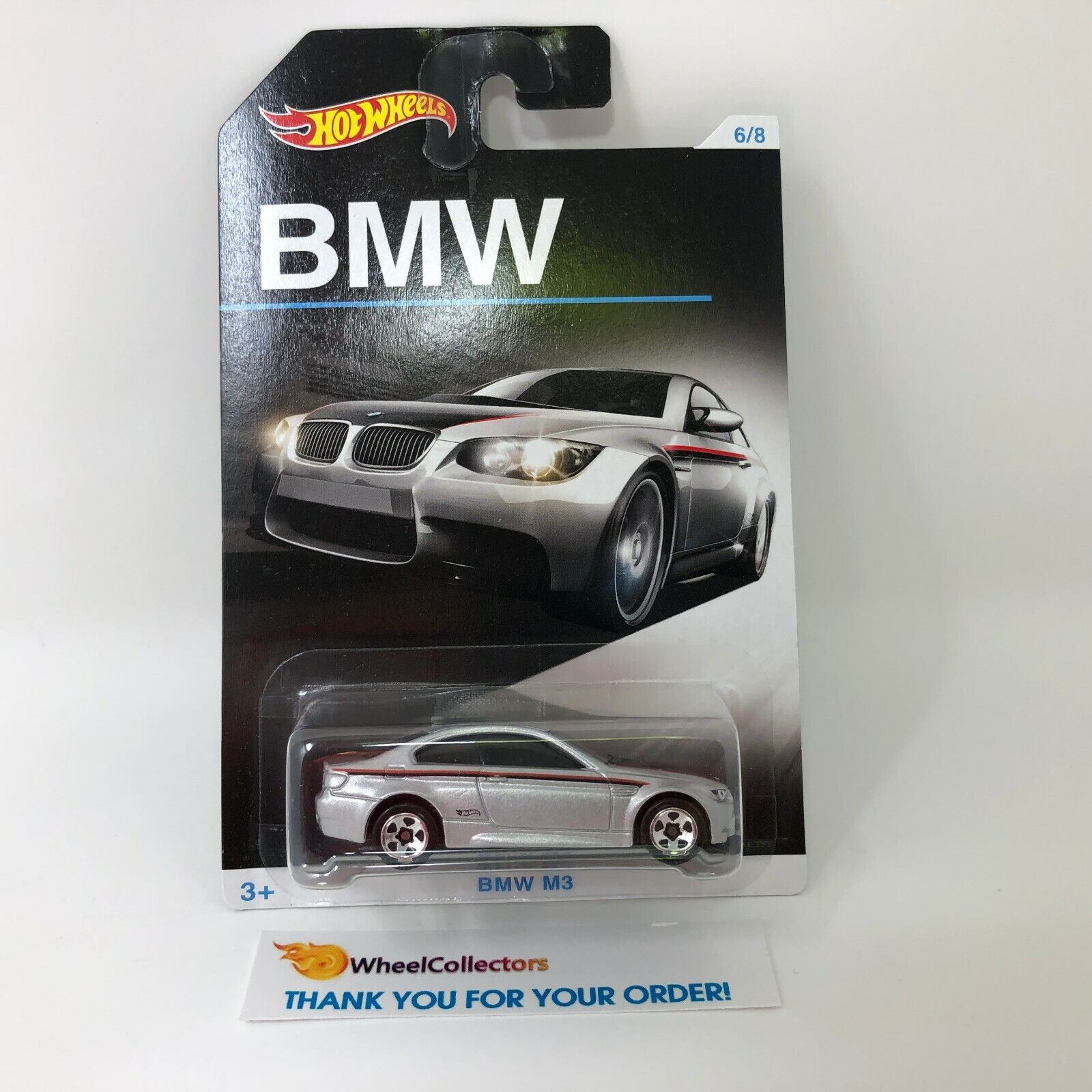 BMW M3 * Silver * Hot Wheels BMW Series * R9