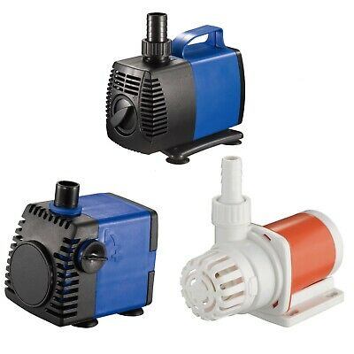 External Aquarium Water Pumps - 925-2245 GPH External Water Pump Hydroponics Pool Pond Aquarium Fountain JAJALE