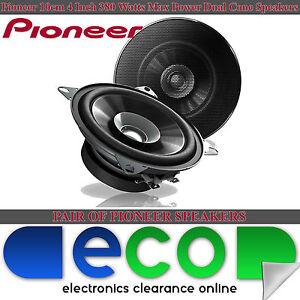 Renault Kangoo Express PIONEER 10cm 380 Watts Dual Cone Front Dash Car Speakers