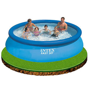 Intex 12ft x 30 easy set inflatable swimming pool great fun for kids 28130 ebay Inflatable quick set swimming pool