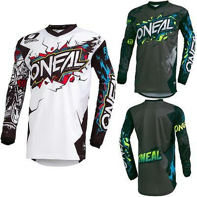 O'Neal Element Villain Motocross Jersey Enduro MX MTB FR DH Trikot Mountain Bike
