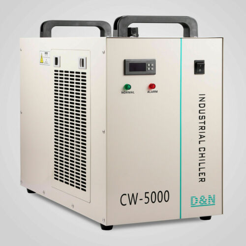 CW-5000 Industrial Water Chiller Cooling System For CO2 Laser Engraver Machine