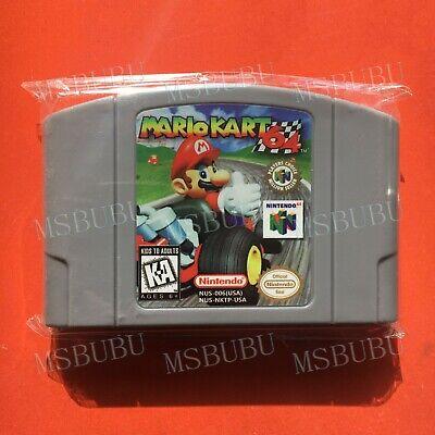 Mario Kart 64 - For Nintendo 64 Video Games Cartridges N64 Console US Version comprar usado  Enviando para Brazil