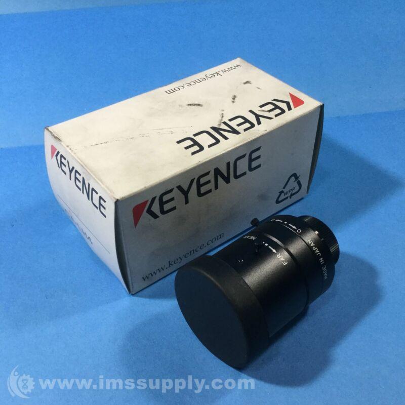 Keyence CA-LH4 Machine Vision Lens, 4 mm, High-Resolution FNOB