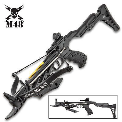 m48 tactical powerful self cocking hunting crossbow