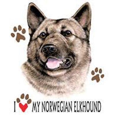Norwegian Elkhound Love Tote