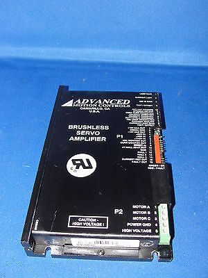 Advanced Motion Controls B30a8ip Brushless Servo Amplifier