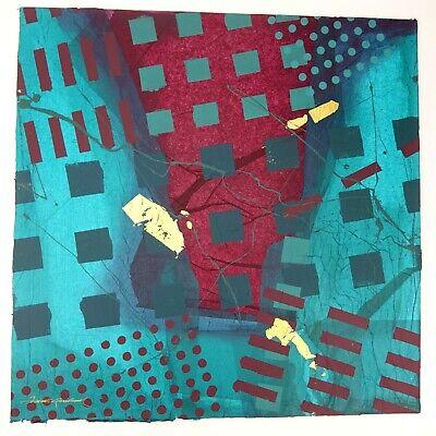 Frank Rowland Mixed Collage Media Art 24