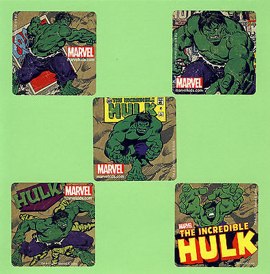 15 The Incredible Hulk - Large Stickers - Party Favors - Rewards - Hulk Party Favors