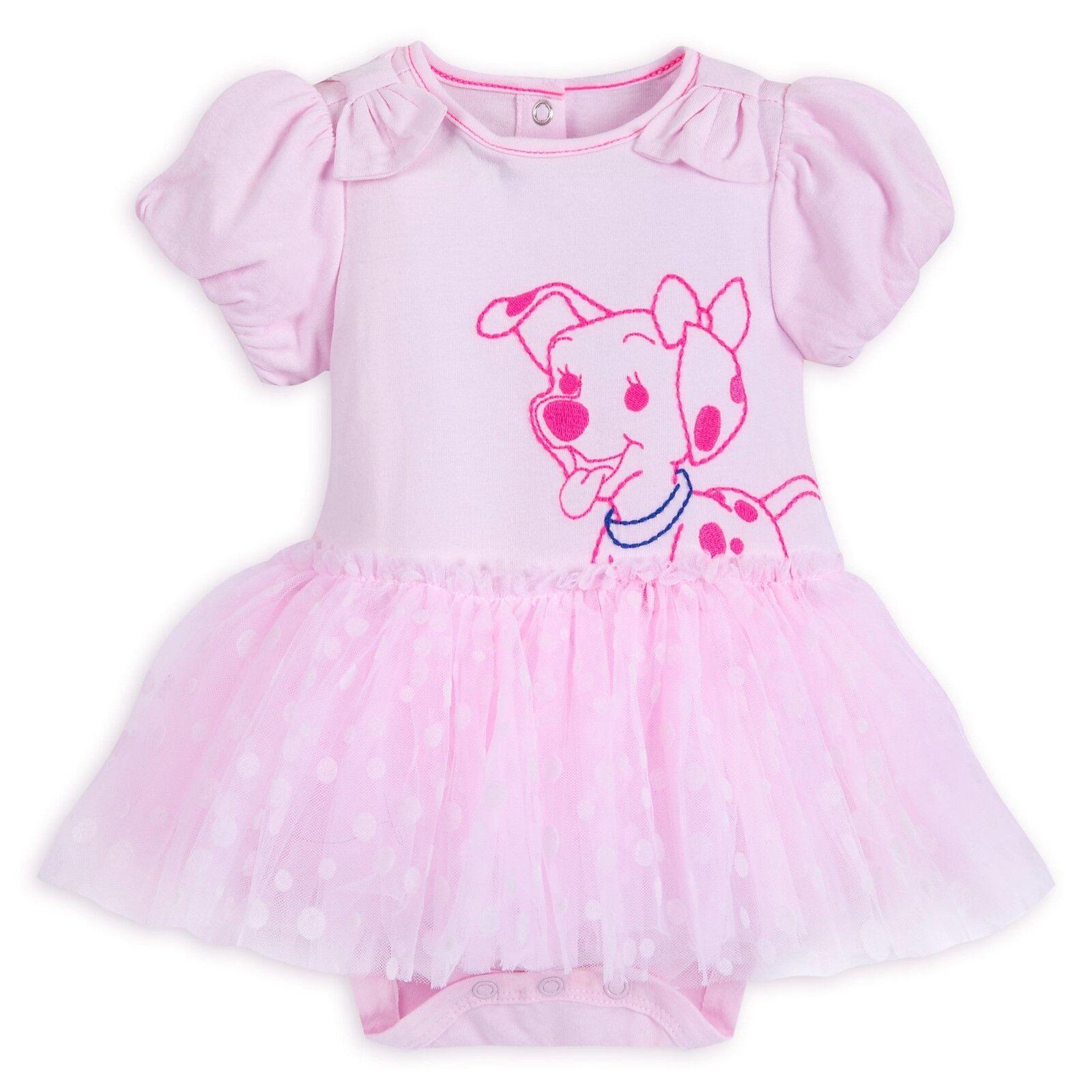 Disney Store 101 Dalmatians Penny Tutu Bodysuit for Baby Gir