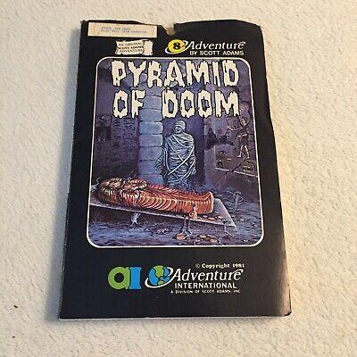 Pyramid of Doom - Scott Adams Adventure International - Atari - Very Rare
