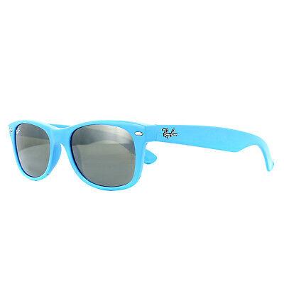 Ray-Ban Sunglasses New Wayfarer 2132 755/40 Light Blue Silver (Wayfarer Sonnenbrille Blues)